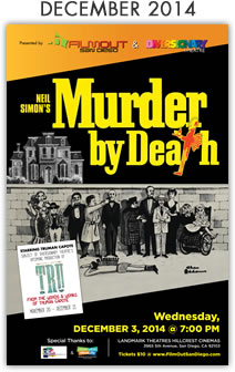 December 2014: Murder By Death